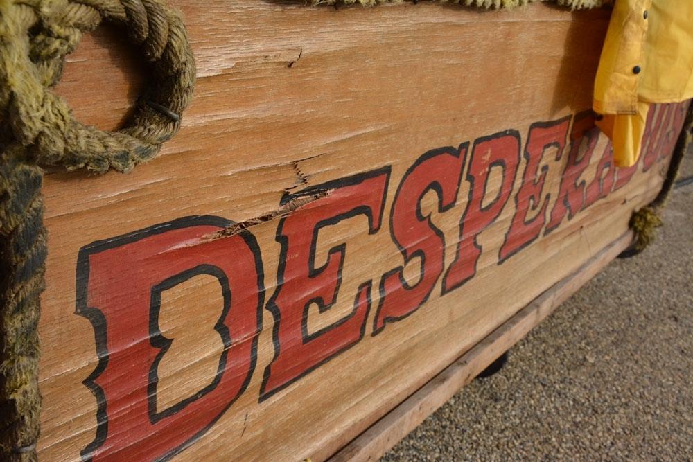 The Desperados brand all their equipment including their breakfast bar.