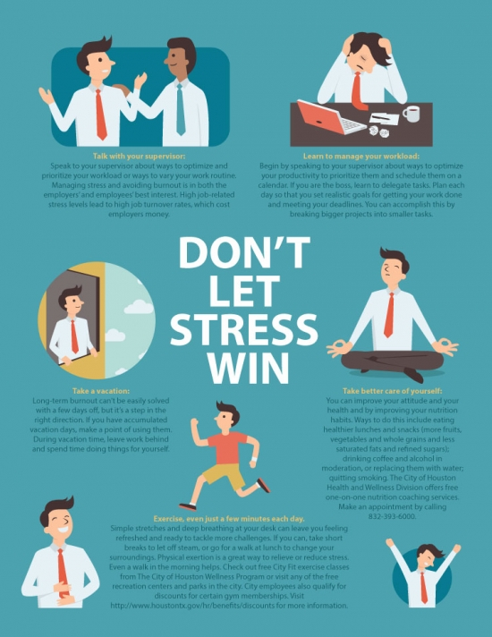 Don't let stress win