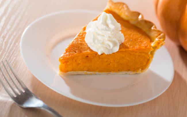 Sweet potato and squash pie
