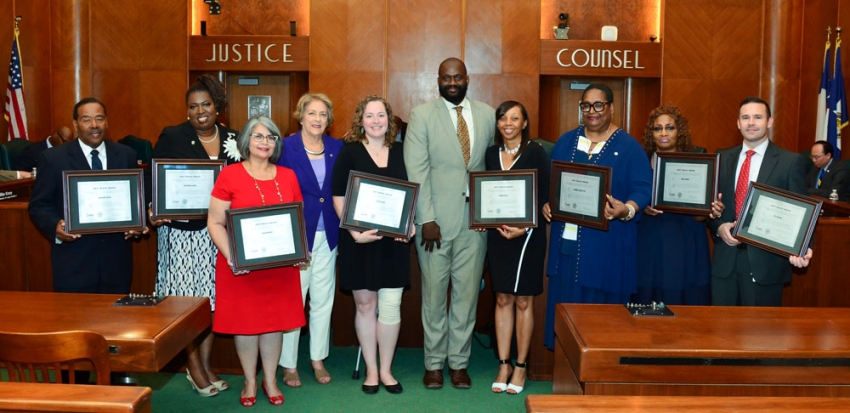 Bravo Award winners earn praise from City Council